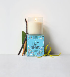 Light the way candle | Source: Aveda
