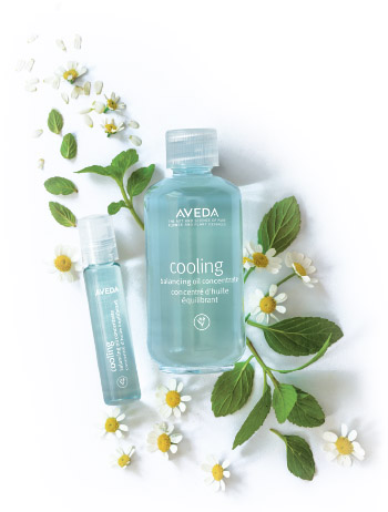 Aveda Cooling Concentrate at  Indira Salon Chicago