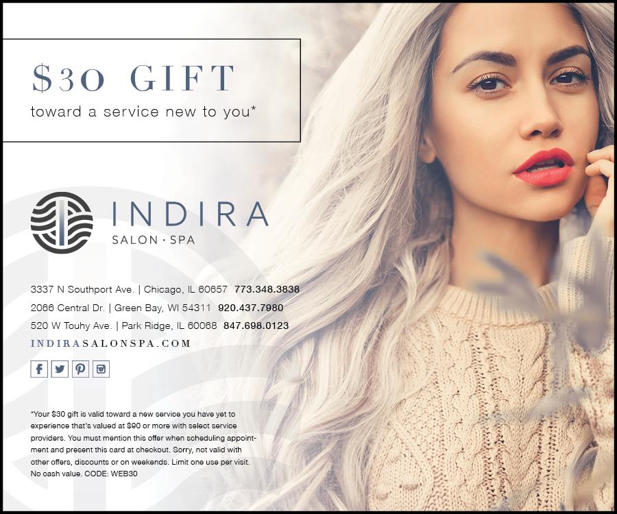 New Client Offer Indira Aveda Lifestyle Salon Green Bay